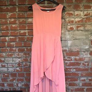 Maxi High Low dress